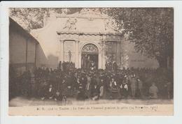 TOULON - VAR - LA PORTE DE L'ARSENAL PENDANT LA GREVE - 14 NOVEMBRE 1905 - Toulon