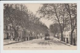 TOULON - VAR - LE MOURILLON - LE BOULEVARD DE BAZEILLES - TRAMWAY - Toulon