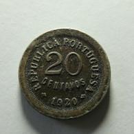 Portugal 20 Centavos 1920 - Portogallo