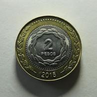 Argentina 2 Pesos 2015 - Argentina