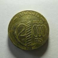 Brazil 2000 Reis 1938 - Brazil