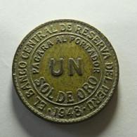 Peru 1 Sol 1948 - Peru