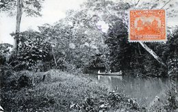 RARE NICARAGUA BLUEFIELDS DEADMAN'S CREEK , STAMP 1920 (5) - Nicaragua
