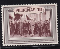 Philippinas 1968, Kennedy, Minr XIII, MNH. Cv 5,50 Euro - Philippines