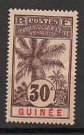 Guinée - 1906 - N°Yv. 40 - Palmier 30c - Neuf Luxe ** / MNH / Postfrisch - Guinée Française (1892-1944)