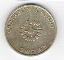 Knutsson Casino Token Obsolete 1 Kasinogeld Jeton Notgeld Sweden - Casino