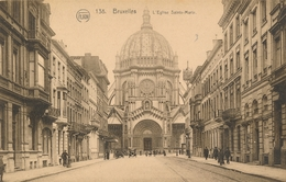 CPA - Belgique - Brussels - Bruxelles - L'Eglise Sainte Marie - Schaarbeek - Schaerbeek