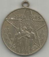 Russia, 40° Seconda Guerra Mondiale, Mist. Gr. 17, Cm. 3,2. - Gettoni E Medaglie
