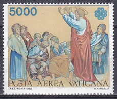 Vatikan Vatican 1983 Kunst Arts Kultur Culture Gemälde Paintings Raffael Paulus Weltkommunikationsjahr, Mi. 843 ** - Vatikan
