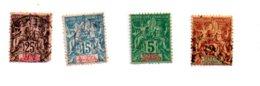 République Française - Senegal Independances - 4 Timbres-voir état - Timbres