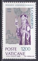 Vatikan Vatican 1984 Religion Christentum Persönlichkeiten Heilige Kasimir Schutzpatrone Litauen Lithuania, Mi. 847 ** - Ungebraucht