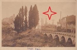 SAINT PAUL-de-VENCE. Le VIADUC - (Tramway). - Saint-Paul