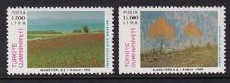 Turkey 1995, Minr 3049-3050, MNH - 1921-... Republic
