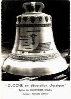 CPM* N°3260 - CLOCHE EN DECORATION CLASSIQUE - EGLISE DE COURVIERES - FONDATEUR : PACCARD - ANNECY - Francia