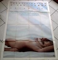Aff Cine Orig IDENTIFICATION D'UNE FEMME (1982) 120X160CM Antonioni - Posters