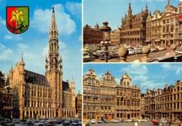 CPM - BRUXELLES - Souvenir De BRUXELLES - Panoramische Zichten, Meerdere Zichten