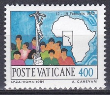 Vatikan Vatican 1984 Religion Christentum Persönlichkeiten Papst Päpste Popes Johannes Paul II. Reisen, Mi. 857 ** - Vatikan