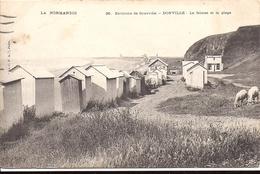 DONVILLE Environs De Granville La Falaise Et La Plage N°36 La CPA Paris - France