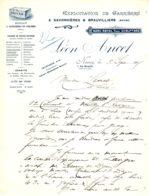 ANCET  Eploitation De Carrières  SAVONNIERES & BEAUVILLIERS   (Meuse)  Nancy 1905 - France