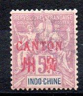 CANTON - YT N° 16 - Cote: 300,00 € - Canton (1901-1922)