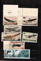 Lot Russie Aviation Anciens Timbres   à Identifier - Postzegels