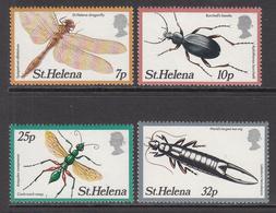 1982 St Helena Insects  Complete Set Of 4 MNH - Saint Helena Island