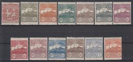 SAN MARINO - Michel - 1921 - Nr 68/80 - MH* - Neufs