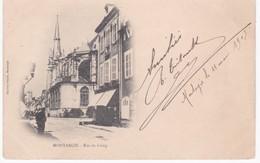 45 Loiret -  MONTARGIS -  Rue De Loing - Dos Simple 1903 - Montargis