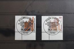 BRD 2224-2225 Gestempelt Als Eckrand Bundesrepublik Deutschland #RZ609 - Ohne Zuordnung