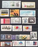 Lotto A31 Alla Rinfusa Francobolli Ed Etichette Per Macchine Obliteratrici ATM - Francobolli