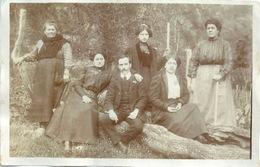 Photo Originale Arrière-pays Niçois Photo De Famille - Pin-ups