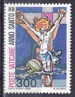Vatikan Vatican 1983 Religion Christentum Heiliges Jahr Der Erlösung Redemption Christus Kreuz Cross, Mi. 816 ** - Vatikan