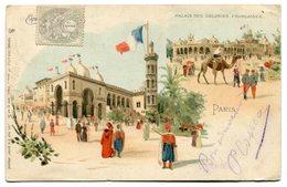 CPA - Carte Postale - France - Exposition Universelle De 1900 - Palais Des Colonies Françaises (C8578) - Exhibitions