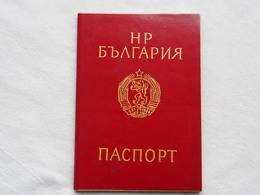 Passeport Bulgarian  1989 Visas Romania     Passeport Reisepass Pasaporte Border Stamp  A 188 - Documenti Storici