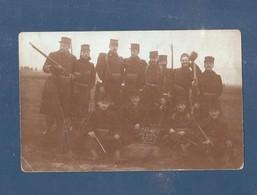 """Carte Photo Fotokaart  Burgerwacht"""" Garde Civique """"ten Nooy"""" 1914 1918 Met Geweer Comblain Mod 1882 - St-Joost-ten-Node - St-Josse-ten-Noode"""