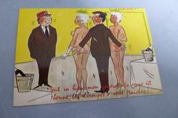 BELLE ILLUSTRATION HUMORISTIQUE SEXY .....LES CROUPES SONT FRAICHES - Humoristiques