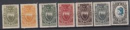 SAN MARINO - Michel - 1923 - Nr 91/97 (ZEER MOOI) - MH* - Saint-Marin