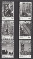 2010 St Helena WWII Battle Of Britain   Complete Set Of  6 MNH - Saint Helena Island