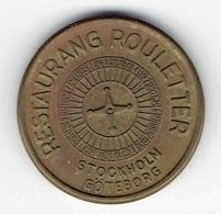 Roulette Token Sweden Restaurang Rouletter Kasinogeld Jeton Notgeld Casino - Casino