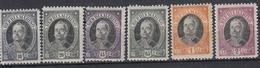 SAN MARINO - Michel - 1926 - Nr 125/30 (MOOI) - MH* - Saint-Marin