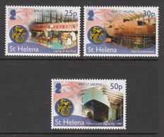 2014 St Helena Launch Of RMS St. Helena Ships   Complete Set Of  3 MNH - Saint Helena Island