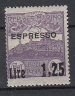 SAN MARINO - Michel - 1926 - Nr 132 - MH* - Neufs