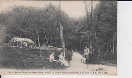 YVELINES - 26 - SAINT NOM La BRETECHE - Route Rusée Conduisant à La Gare  ( - Cabane De Bucherons ) - St. Nom La Breteche