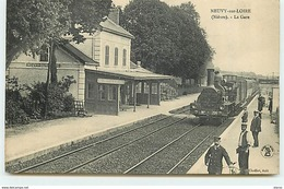 NEUVY-S/LOIRE - La Gare - France