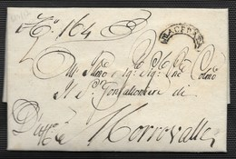 DA MACERATA A MORROVALLE - 2.3.1817 - I° TIPO. - Italia
