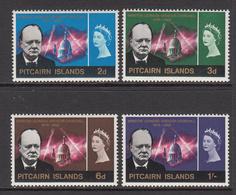 1966 Pitcairn Churchill WWII  Complete Set Of  4 MNH - Pitcairn Islands