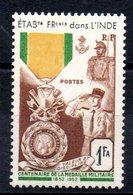 INDE - YT N° 258 - Neuf ** - MNH - Cote: 6,35 € - Indien (1892-1954)