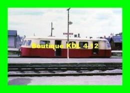 AL 423 - Autorail Billard X 244 En Gare - BUZANCAIS - Indre - BA - France