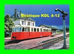 AL 454 - Autorail De Dion OC 2 X 205 En Gare - VALENCAY - Indre - BA - France
