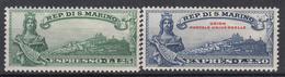 SAN MARINO - Michel - 1929 - Nr 163/64 - MNH** - Timbres Express